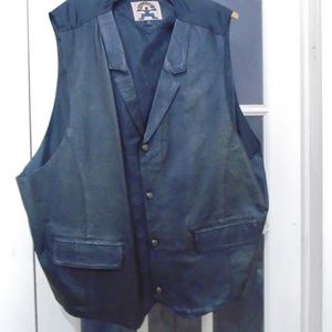Phase 2 leather vest